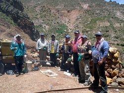 Equipo mina Colavi
