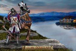 CLAN DOUGLAS  PRINT 38