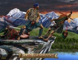 CLAN FERGUSSON  PRINT 30