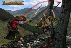 CLAN GRAY  PRINT 43