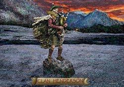 CLAN HENDERSON  PRINT 44