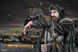 CLAN KENNEDY  PRINT 45