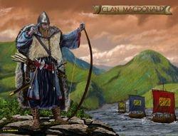 CLAN MACDONALD  PRINT 27