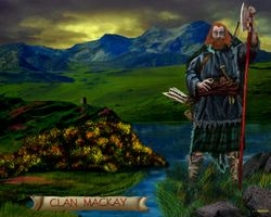 CLAN MACKAY  PRINT 29