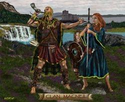 CLAN MACNEIL  PRINT 54