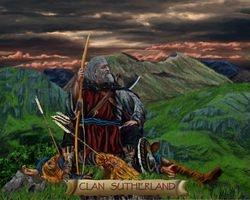 CLAN SUTHERLAND  PRINT 15