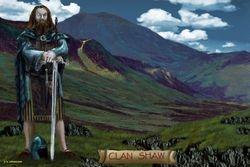 CLAN SHAW  PRINT 53