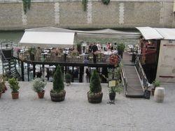 Floating Restaurant - River Seine