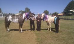 Roxy and Alphy with their Results Warwick Show 2014