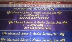 Alphys results Warwck Show 2014