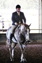 Alphy and Leanne HUS PHPA 2013 State show Hunter class