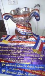 Warwick show 2012, Supreme of Show, Supreme colourama exibit, 2 champions, 2 firsts