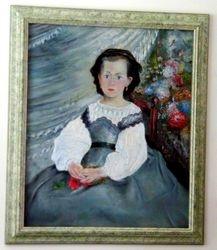 After Renoir - Little Miss Romaine Lacaux