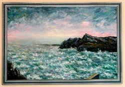 The Sea at Polpero