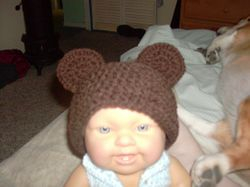 Newborn Teddy Cap