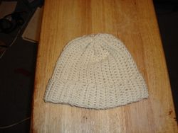 Crocheted Rib Cap