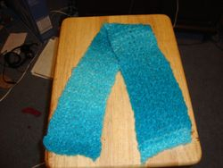 Knitted Boucle Scarf