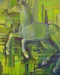der blaue reiter paard
