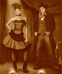 Halloween at the Hyperion: Old West Sepia