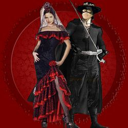 Halloween at the Hyperion: Zorro & Lady