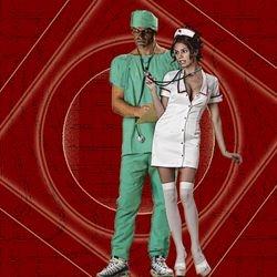 Halloween at the Hyperion: Doc & Nurse