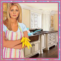 Buffy and the Kitchen Sink