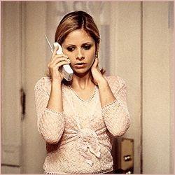 Buffy on the Phone