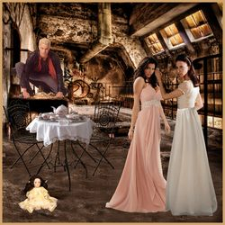 Cordelia, Drusilla and Spike at the Factory