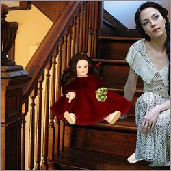 Drusilla and Miss Edith on the Basement Steps