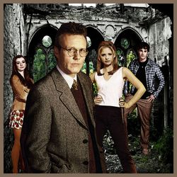 Giles and the Scoobies