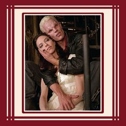 Drusilla and Spike Embrace