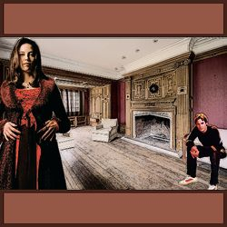 Drusilla and Enthralled Xander