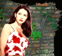 Charisma Carpenter Manip of a WB Promo: Colorized