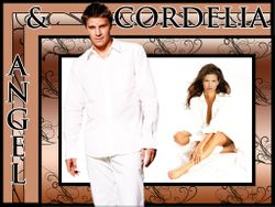 Angel & Cordelia - All in White