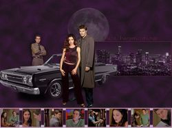 Angel Investigations Season 2 - Angel, Cordelia and Wesley