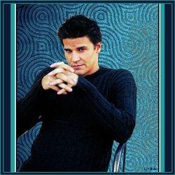 Angel in Blue Sweater
