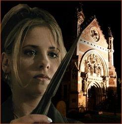 Buffy at Holy Cross Catholic Church