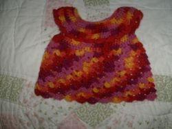 Pinafore ruffle dress