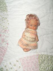Tiny doll dress