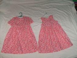 Two girls size 5 dresses I sewed