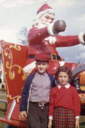 Catone kids & Santa at the Danbury Fair