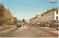 Main St--Danbury--1960s