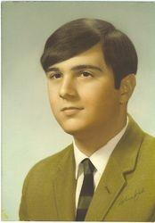 Senior Year High School yearbook photo