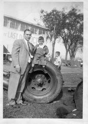 Dad and Marc at Fair circa 1953