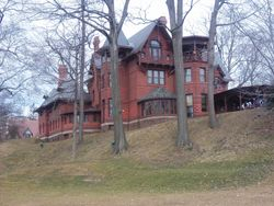 Clemens home in Hartford CT