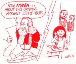 Steve Leshin Christmas Card 1991