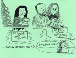 Steve Leshin Christmas Card 1999