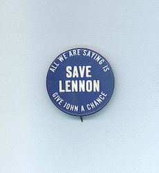 """Save Lennon"" button"