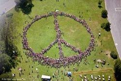 Human Peace Symbol