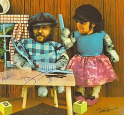 Pussycats Album autographed by Nilsson
